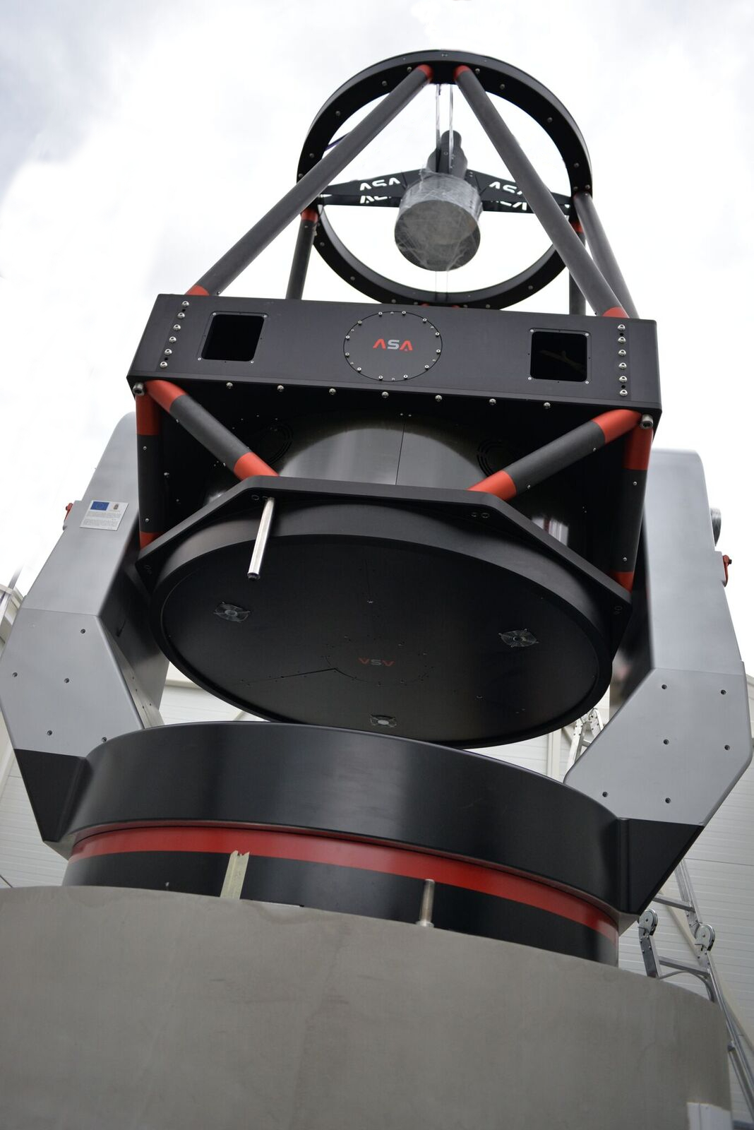 "The new big 1.4 m telescope ""Milankovic"" - AZ1400 Retchey Chretien telescope on azimuthal mount produced by ASA"